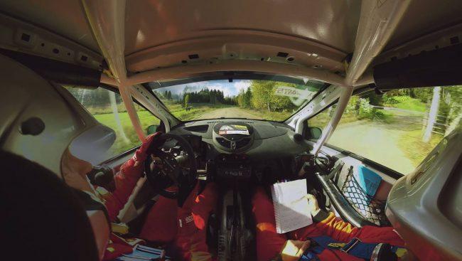Pirelli Rally 360 incar camera